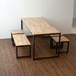 ASH IRON 1800 TABLE SET