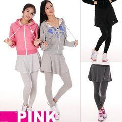 EVA PINK 플레어스커트레깅스 핑크정품 레깅스 에바핑크 EVAPINK