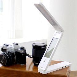 여행용 LED 접이식 휴대용 USB 허브 3단 스텐드  midstand-7