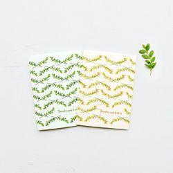 Thanks & Loves card set