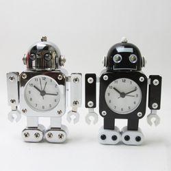 무소음 양철로봇 알람시계 ver.3 (6color)