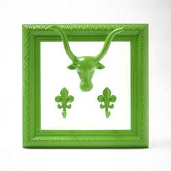 모던엔틱 프레임 후크 네온 라임 Modern antique frame hook  Neon lime