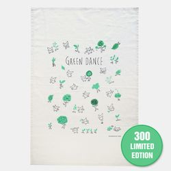 [Art] GREEN DANCE - FABRIC POSTER