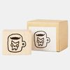 Snowcat WOOD STAMP-MUG