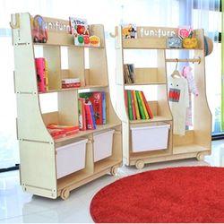 fn0037-열공책장(어린이책장-유아책장-친환경어린이가구)펀펀가구