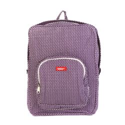 [bakker] Canvas Backpack_L_flots purple