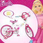 [BARBIE] 2014년형 바비 아동용 바비 자전거-바비핑크