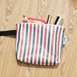 stripe string pouch