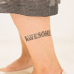 [TATTLY] Awesome