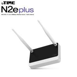 ipTIME N2E plus 유무선공유기 (300Mbps급 11n 4LAN 포트 유무선공유기)