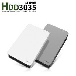 ipTIME HDD3035 (3.5인치 USB3.0 외장하드 케이스 . eSATA 지원 . Auto Backup 기능 탑재)