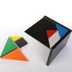 [PICO PAO] Tangram_비치우드 컬러 조각