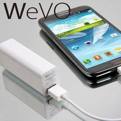 위보(WeVO) 스마트폰 보조배터리-AR-2600SD 2600mAh