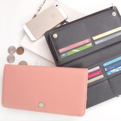 CONI Double Button Wallet (6 color)