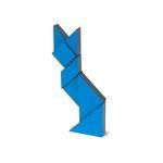 [PICO PAO] TANGRAM 3D (Blue)