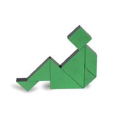 [아울렛] [PICO PAO] TANGRAM 3D (Green)