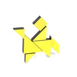 [아울렛] [PICO PAO] TANGRAM 3D (Yellow)