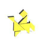 [PICO PAO] TANGRAM 3D (Yellow)