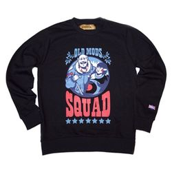OLD MODS SQUAD SWEATSHIRTS(BLACK)