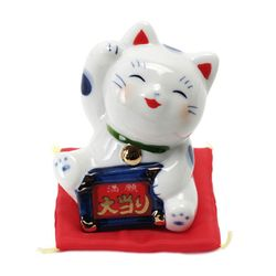 마네키네코 만원 대박 고양이 장식품