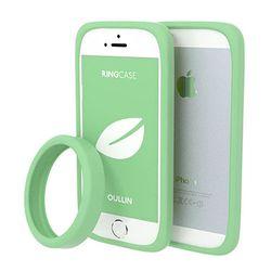 어울린 링케이스 for iPhone 5. 5s 그레이드 제이드