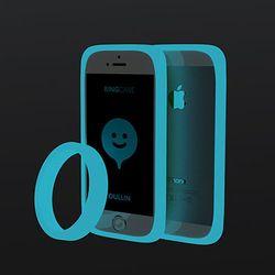 어울린 링케이스 for iPhone 5. 5s 루미노스 블루