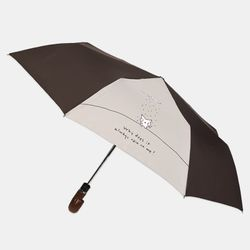 왜죠 우산(3단자동) Brown