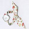 KNOT WATCH - FLOWER SMALL SILVER 004