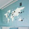 여행 세계지도 [중형-DIY제품] 그래픽 북유럽 스티커