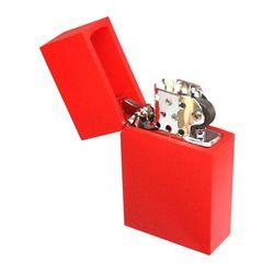 하드 엣지 컬러 라이터 레드 RED