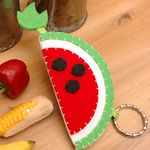 맛있는 수박 열쇠고리 만들기