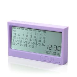 [LEXON] BURO Calendar 디지털캘린더 purple - LR121E