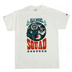 Old Mods Squad T-shirt(WHITE)