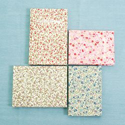 Flower hard cover note (medium size) 2종
