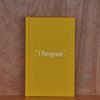 1 Paragraph diary-Hardcover Yellow