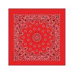 22inch bandana red