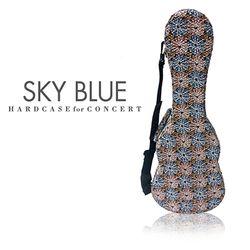 sky blue 우쿨렐레 하드케이스