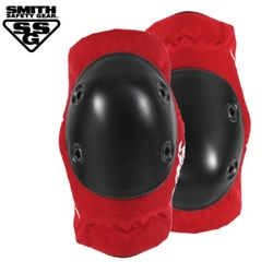 [SMITH] SCABS ELITE ELBOW PADS (RedBlack)
