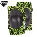 [SMITH] SCABS ELITE LEOPARD ELBOW PADS (GreenBK)