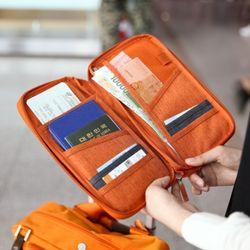 트래블러스 핸디 ver.4-여권과 지도 보딩패스를 함께 수납하는 핸디