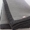 grey quilting pad