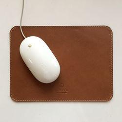 천연가죽 마우스패드 MousePad Simple [India Camel]