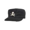 VINTAGE SOLID FATIGUE CAP (JOLLY ROGER)