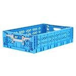 폴딩박스 L blue_Active Lock 15.6cm (손잡이)