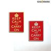 keep calm and carry on 뺏지