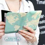 [아울렛] 월드맵 여권커버