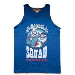 Old mods squad tank top(royal blue)