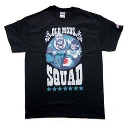 Old Mods Squad T-shirt(black)