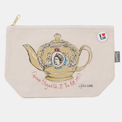[Talented] QUEEN LIZ GOLD TEA POT PURSE