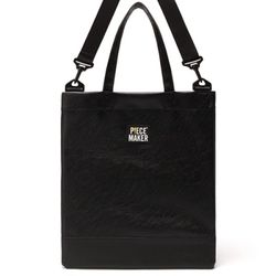 DAILY LEATHER CROSSBAG (BLACK)